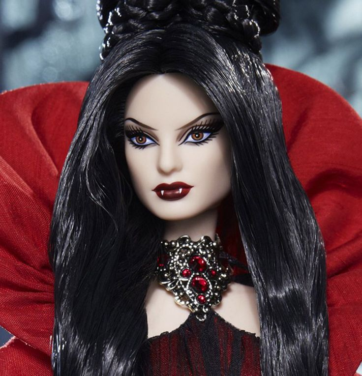If It's Hip, It's Here: Limited Edition Haunted Beauty Vampire Barbie Is Goth and Gorgeous.
