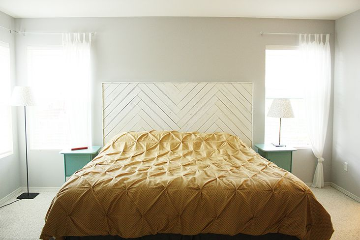 how to make a herringbone pattern with wood