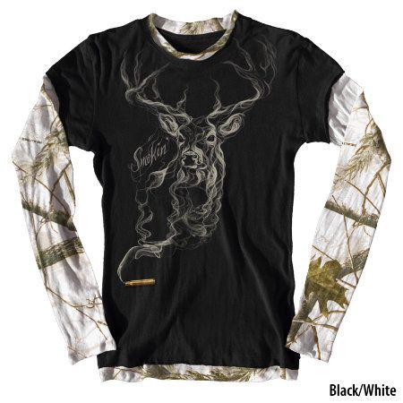 Buck Wear Womens Smokin Deer Camo 2-Fer - Gander Mountain