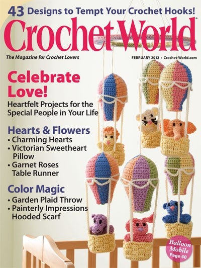 Link up and Download various issues from top Crochet Magazines  ~
