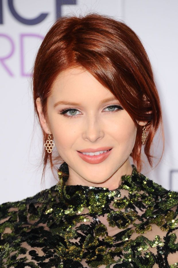Renee Olstead at the 2016 People's Choice Awards.