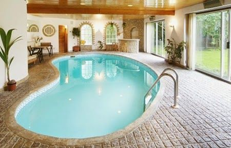 Fascinating Indoor Swimming Pools Ideas | TENKA
