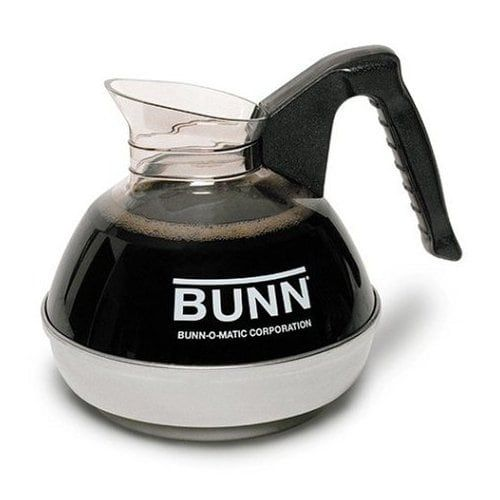 Bunn 6100-R Easy Pour Commercial Coffee (Brown) Decanter, 12 Cup (Plastic)
