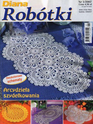 Diana_Robotki_1-2007 - M-CROCHÊ-TRICÔ - Picasa Web Albums
