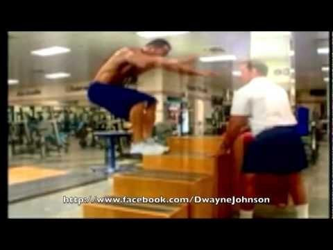 "Dwayne "" The Rock"" Johnson & Brock Lesnar Training"