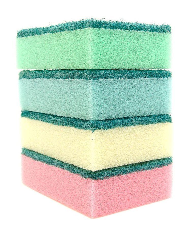 Tip 7: behang van muur af, maak glad met sponsje, en schilderen maar!