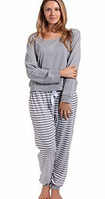 Forever Dreaming  Ladies Womens Jersey Pyjamas PJ Long Sleeve Cotton Rich Womens Pyjamas (Barcode EAN = 5055442169834). http://www.comparestoreprices.co.uk/ladies-pyjamas/forever-dreaming-ladies-womens-jersey-pyjamas-pj-long-sleeve-cotton-rich.asp