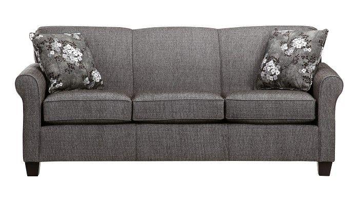 Slumberland furniture york collection granite sofa - Slumberland living room furniture ...