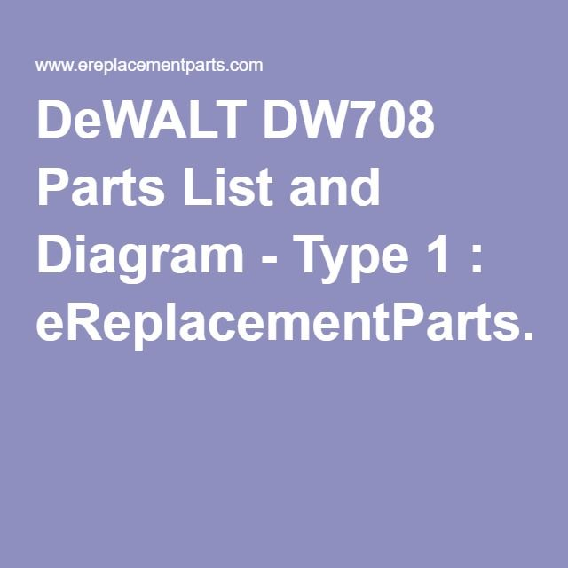 235b6b1532e18bd6a632b0bfe7a09df4 miter saw type the 25 best dewalt dw708 ideas on pinterest saw tool Transformer Grounding Diagrams at bayanpartner.co