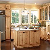 Braeburn Rustic Alder Natural Kitchen Cabinets