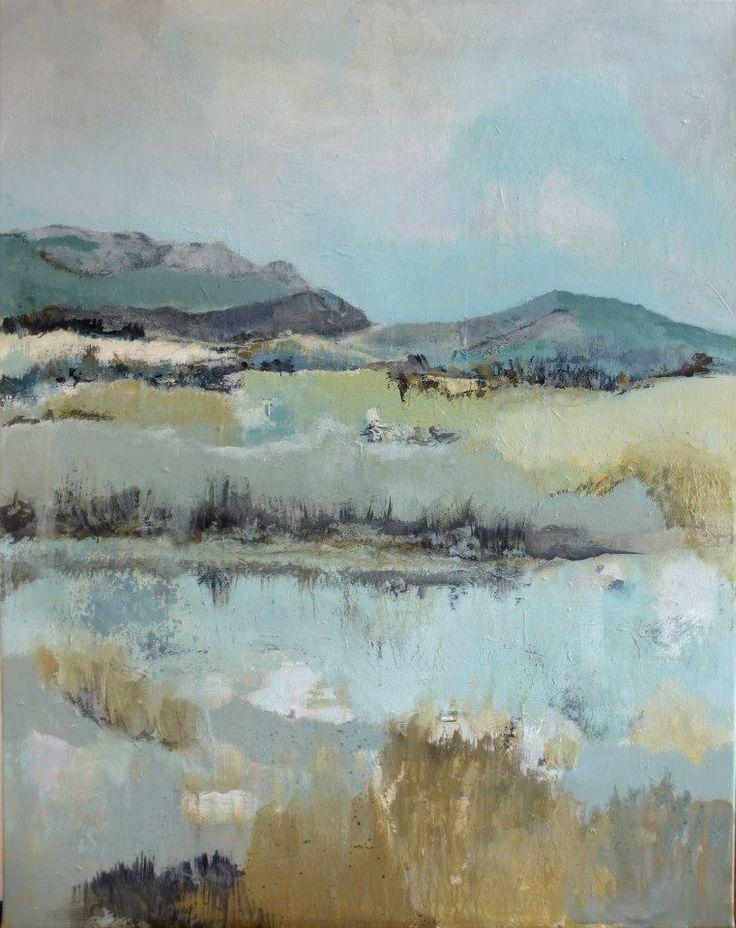 Landscape by Ellen. Painting artist at Art Studio Eduard Moes