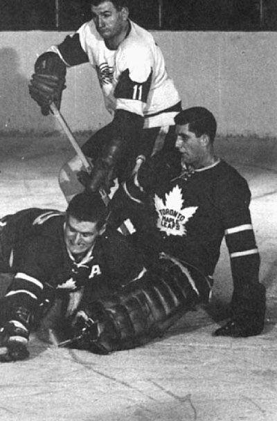 Toronto Maple Leafs goaltending history : Cesare Maniago