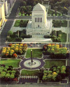 Indiana World War Memorial Plaza, Indianapolis, Indiana