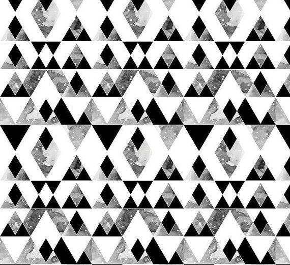 Monochrome Quilt  Black and White  Custom Quilt by SewingWithLace