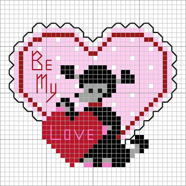 valentine day embroidery designs free