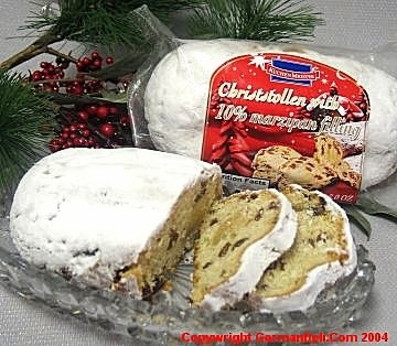 KuchenMeister Marzipan Stollen in Cello 200g