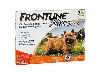 Frontline products are highly recommended by veterinarians for flea and tick control for dogs. For dog owners who want long-lasting, fast-acting flea, tick, and chewing lice control, Frontline Plus guarantees control on dogs aged 8 weeks and older. You only have to apply Frontline Plus once a month, so a 6-dose supply will provide you with up to 6 months of convenient, highly effective flea, flea egg, chewing lice, and tick control. Frontline Plus kills up to 100% of existing fleas in less…