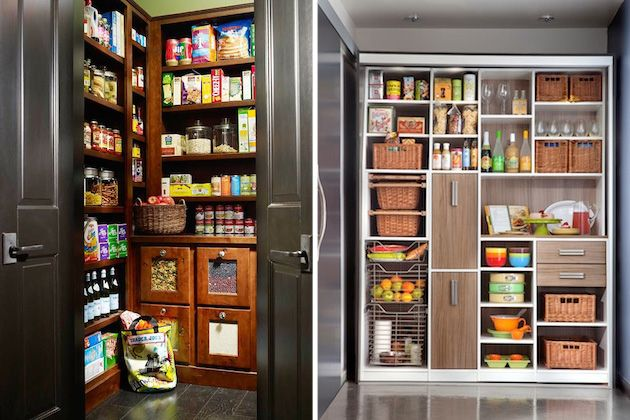pantry2 20 Flawlessly Organized Kitchen Pantries