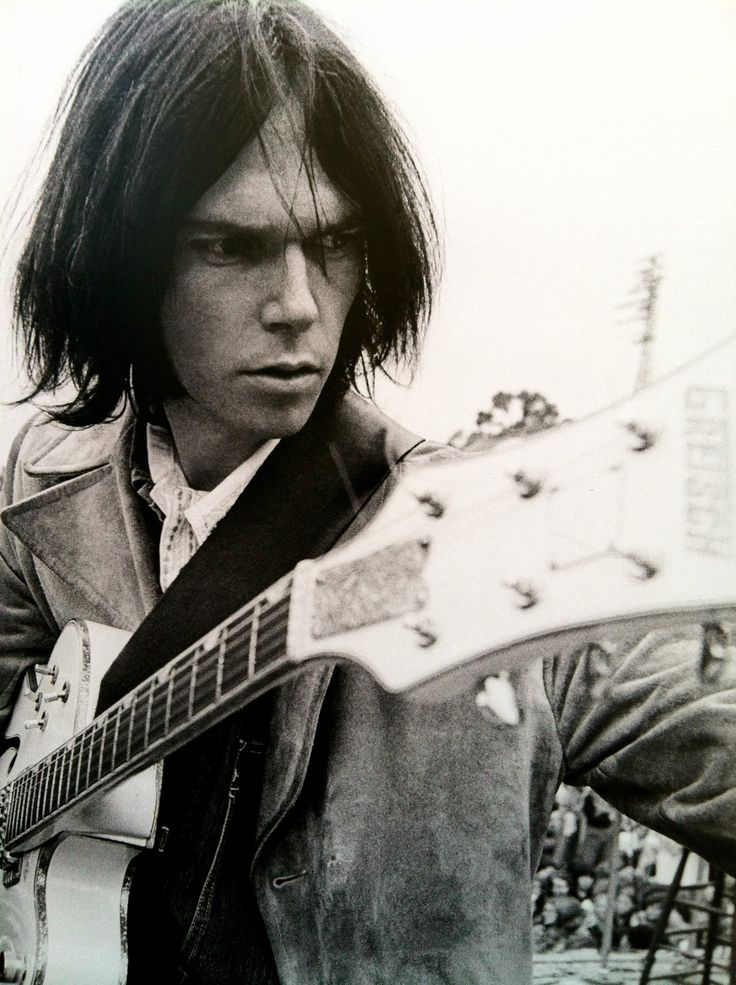 Neil young Both my parents listened to Neil Young so was influenced whose ever house I was at!