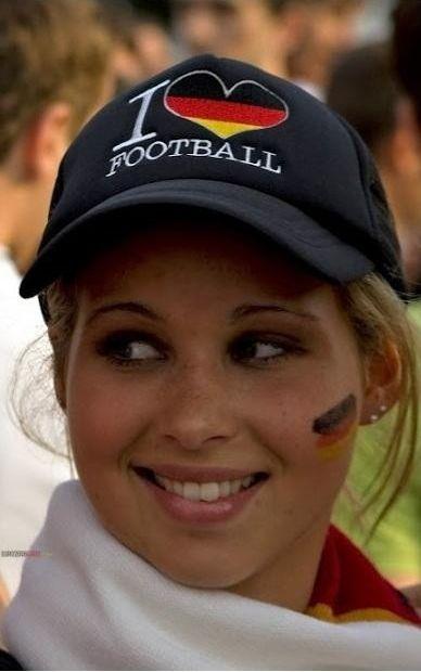 deutscher Fussballfan