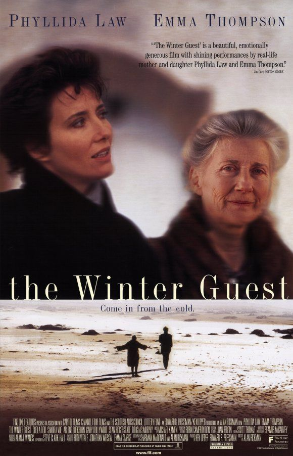 The Winter Guest (1997) directed by Alan Rickman stars Phyllida Law, Emma Thompson and Sheila Reid.