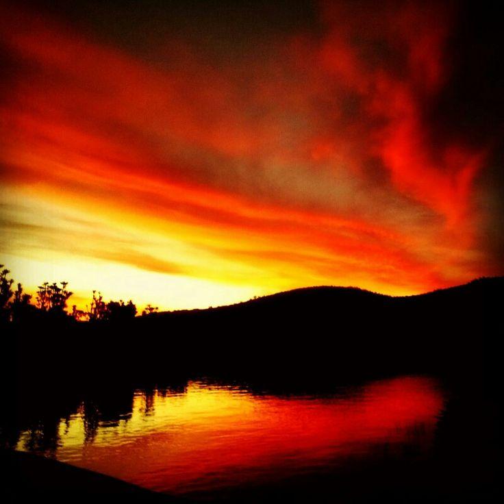 Amazing  sunset. Photo by Cherie Bosch