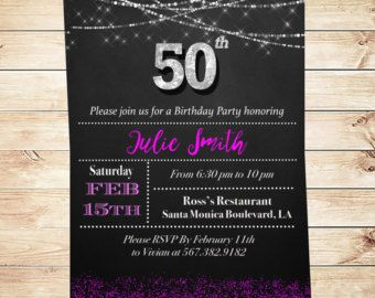 50 And Fabulous Invitations & Announcements by DIYPartyInvitation