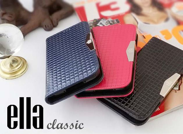 Ella Classic Enamel Leather Diary Case for Galaxy Note 3 Neo