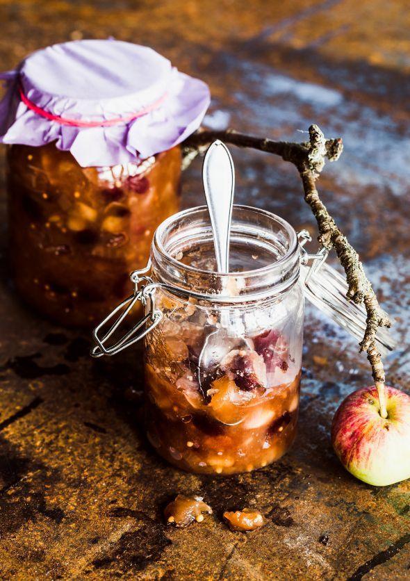 Perinteinen omenachutney