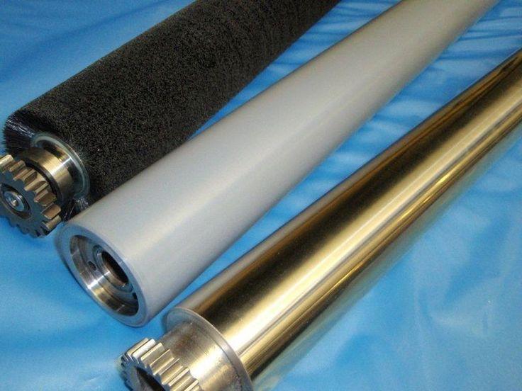 Print Rollers | Bespoke Print Rollers | Rilshaw | Brush | Re-chrome | Finishing Rollers