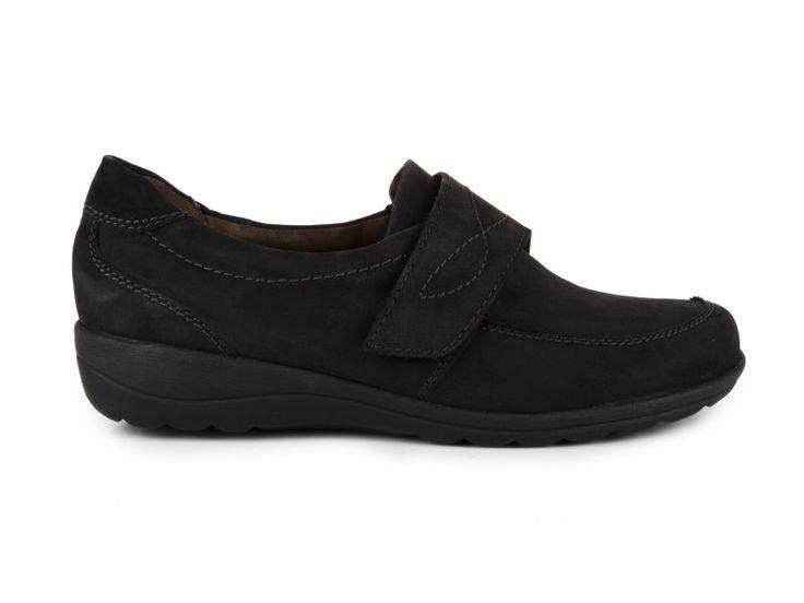 Caprice - Dámské kožené polobotky, šíře H, 9-24643-23/ černá | obujsi.cz - dámská, pánská, dětská obuv a boty online, kabelky, módní doplňky...