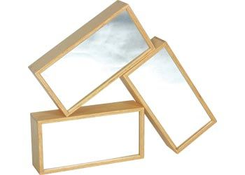 Large wooden mirror blocks-Open ended resources-Construction and creative play-Create mini worlds with these mirror blocks-Reflections