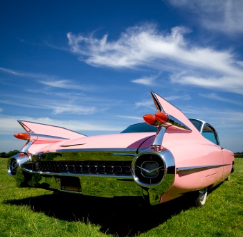1959 Pink Cadillac Coupe de Ville  - Everett Chevrolet Buick GMC Cadillac http://www.everettchevy.com