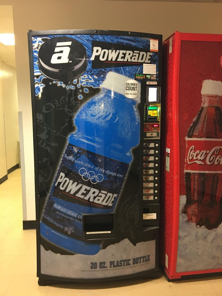 This vending machine at my school is from the 2002 Winter Olympics.