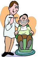 Happy Dentist Cartoon Wow .. its amazing what you can find while searching out images for dental implants and more