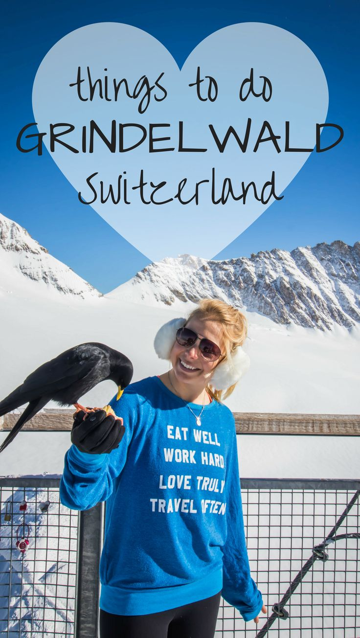 The top things to do in Grindelwald, Switzerland in the winter. Including beautiful lakes, Christmas travel, zipline, ski, snowboard, hiking, cliff walk, and all the best travel tips!