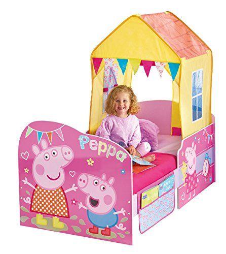 CAMA INFANTIL PEPPA PIG DE MADERA. 452PIP01, IndalChess.com Tienda de juguetes online y juegos de jardin