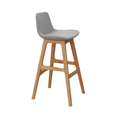 Parker Wooden Counter Stool | Temple & Webster