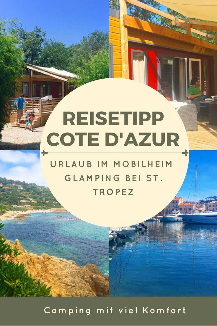 Familienrlaub im Mobilheim an der Cote d'Azur: Auf einem Eurocamp Campingplatz in der Provence bei St. Tropez, Port Grimaud. Camping und Glamping in Frankreich - Sehenswürdigkeiten und Unterkunft.