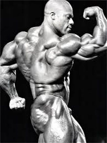 "Phil Heath, my current favorite body builder. ~ M.S.M. Gish ~ Miks' Pics ""People l"" board @ http://www.pinterest.com/msmgish/people-l/"
