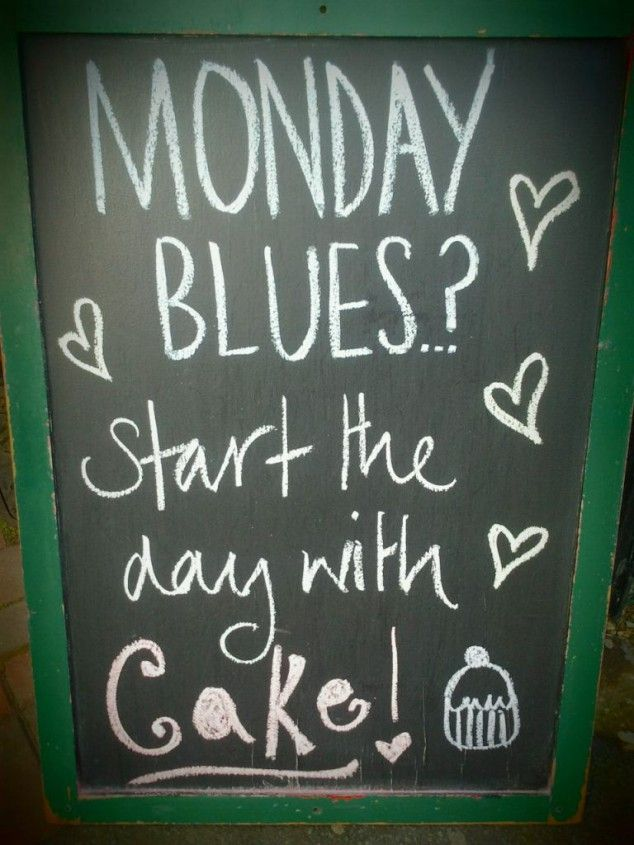 Have you got the #Monday blues? The sweetest & the most effective #solution is here! :D :P