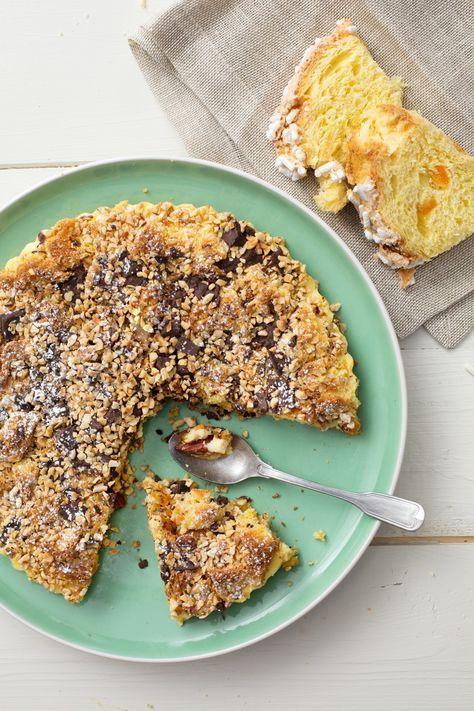 Torta di colomba: un dessert semplice e veloce da preparare. Perfetto per riciclare la colomba avanzata.  [Easter Dove cake]