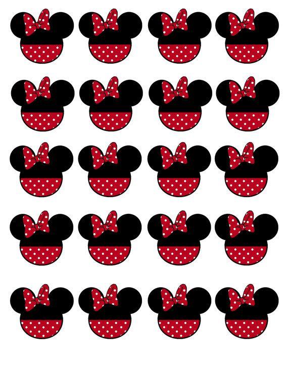 Descarga inmediata Minnie Mouse cumpleaños por DecorAtYourDoor