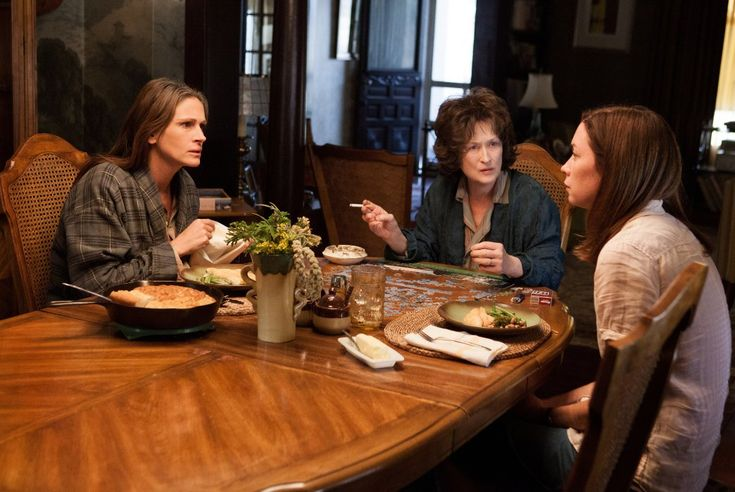 August: Osage County...Eat your f**king fish!