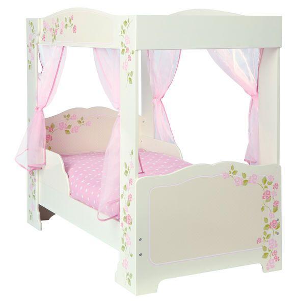 Rose 4 Poster Toddler Bed