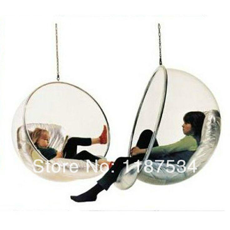bubble swing room swings pinterest. Black Bedroom Furniture Sets. Home Design Ideas