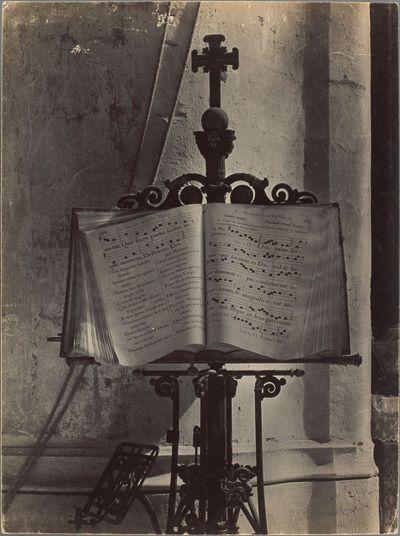 SOUGEZ Emmanuel (1889-1972)  Lutrin à l'Eglise St Gervais 1943