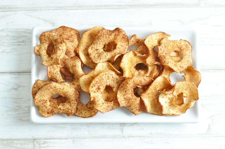 Sprøde æblechips til madpakken - Mambeno