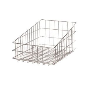"Wire Bagel Basket 11"" x 18 1/2"" - Slant Top"