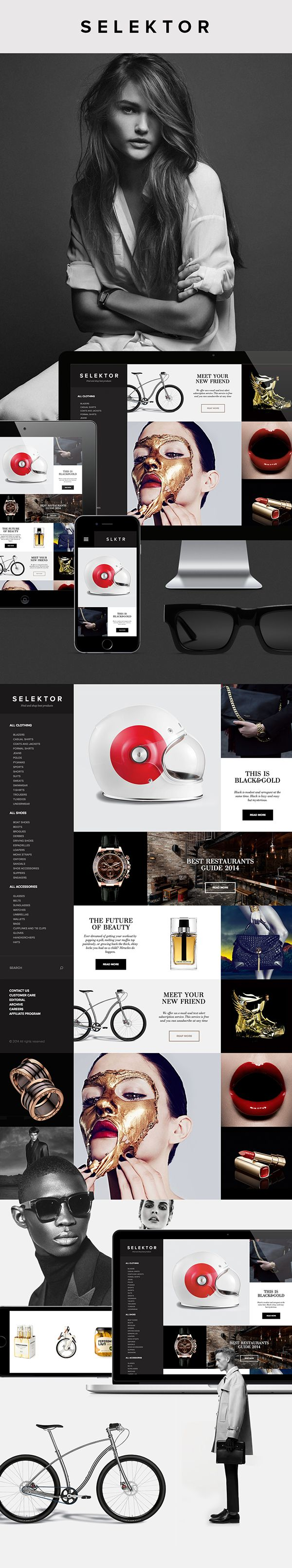 SLKTR – Social shopping platform design by Serge Vasil Published by Serge Vasil